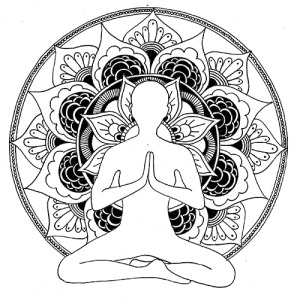 White Lotus Hand drawn - ink