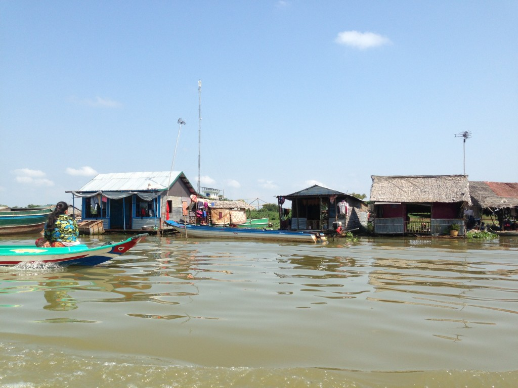floating villages Battambang