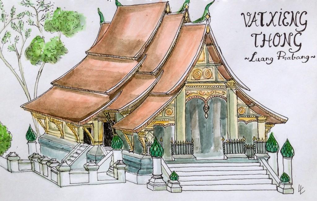 Vat Xieng Thong temple Luang Prabang