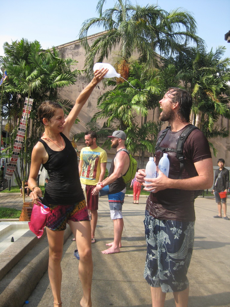 songkran chiang mai with cedric
