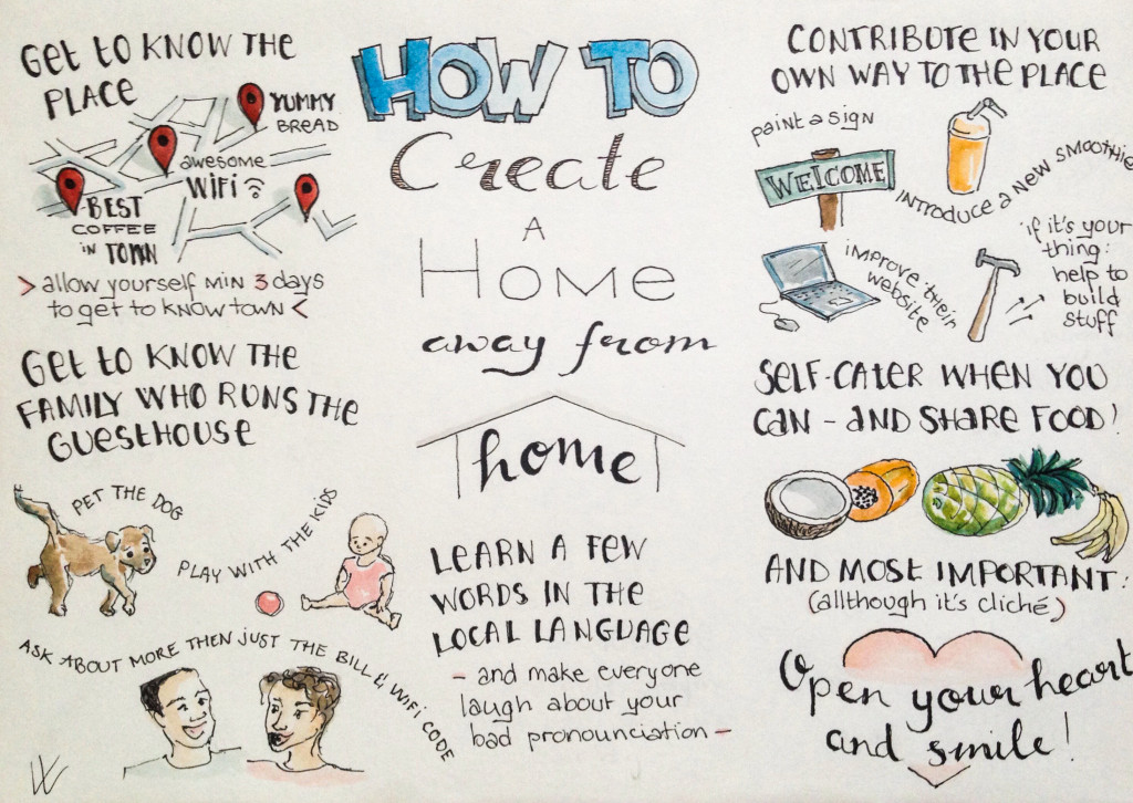 how to create a home away from home