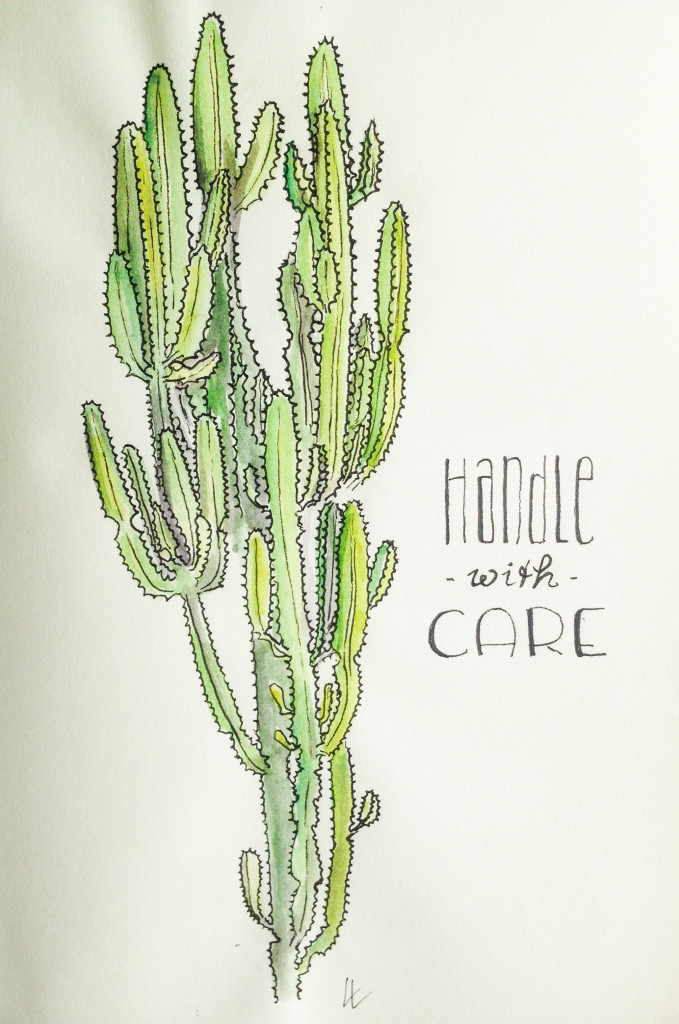 cactus - handle with care