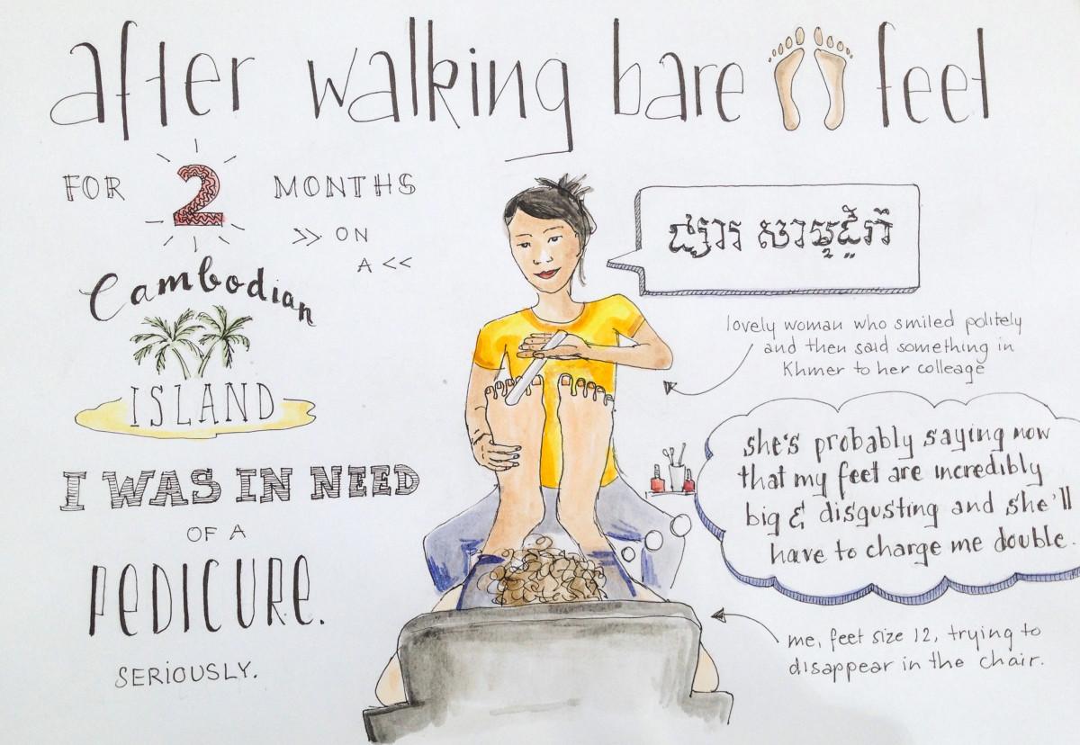 pedicure in cambodia
