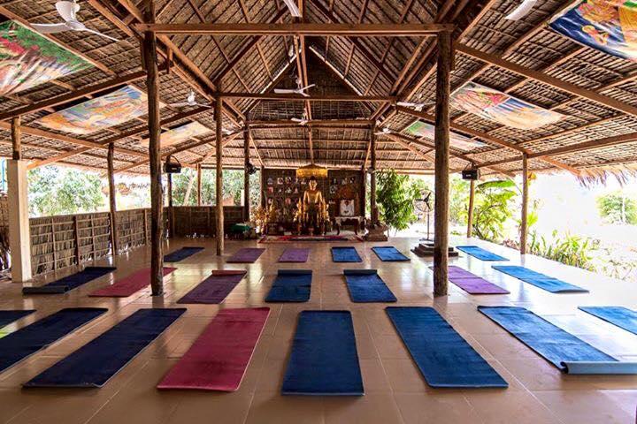 Hariharalaya yoga meditation center Cambodia Siem Reap
