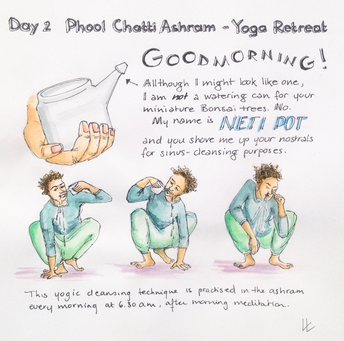 2 - neti pot yogic cleansing