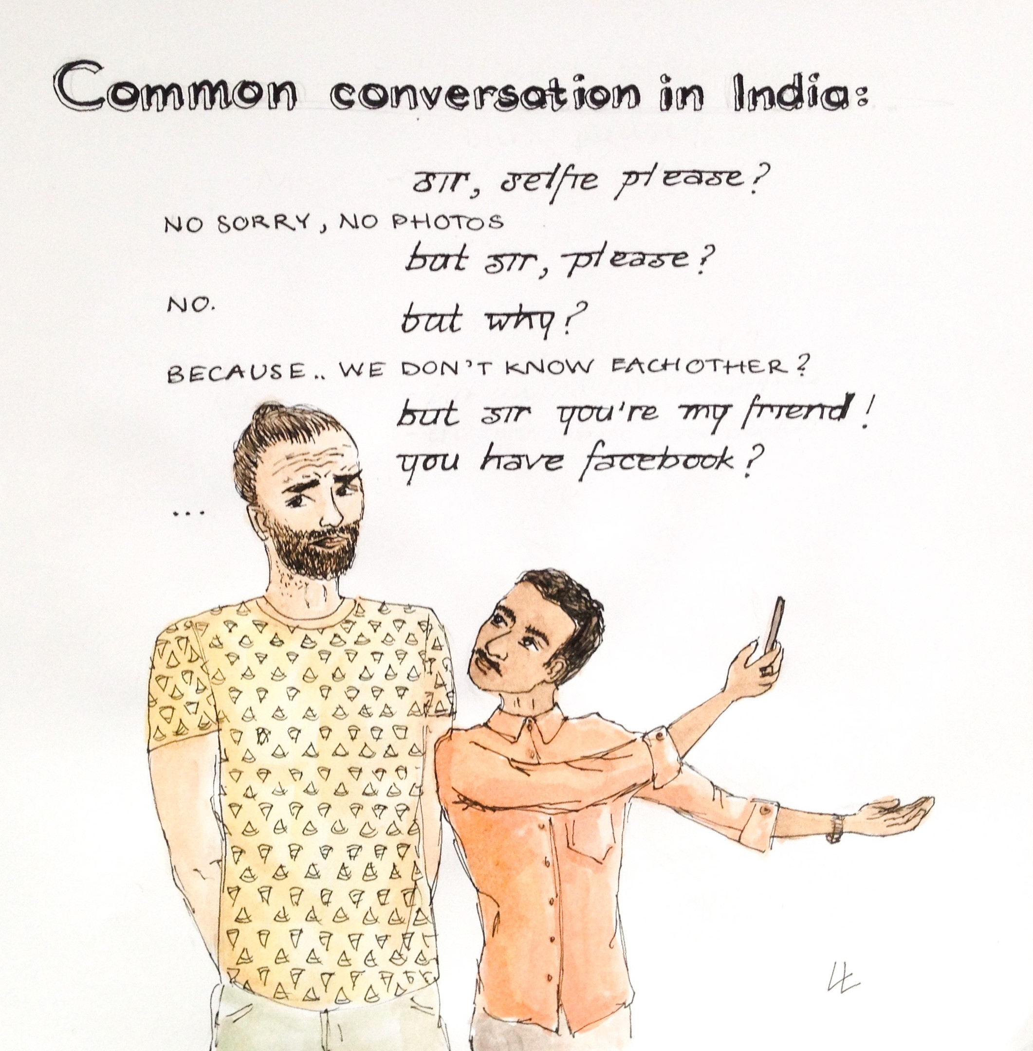 common conversation in India