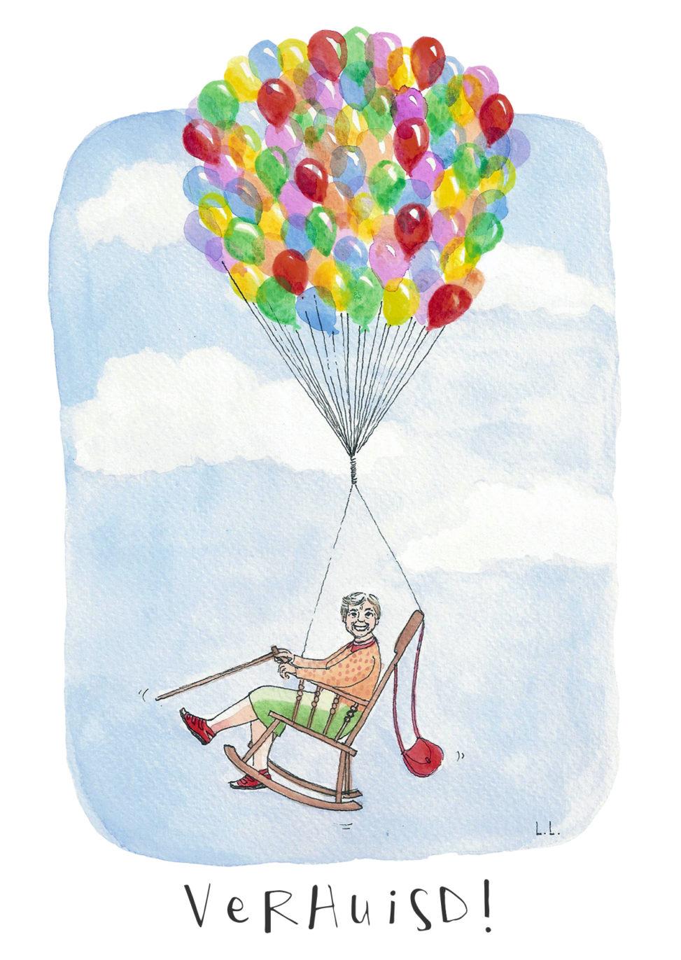 illustration sketch drawing illustrator pencil handdrawn illustrate your world lilian leahy rotterdam amsterdam artwork fine art moving new address announcement card design