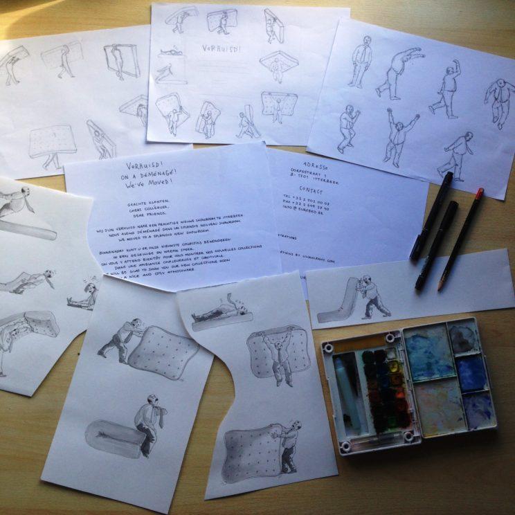 work in progress comic cartoon illustration lilian leahy