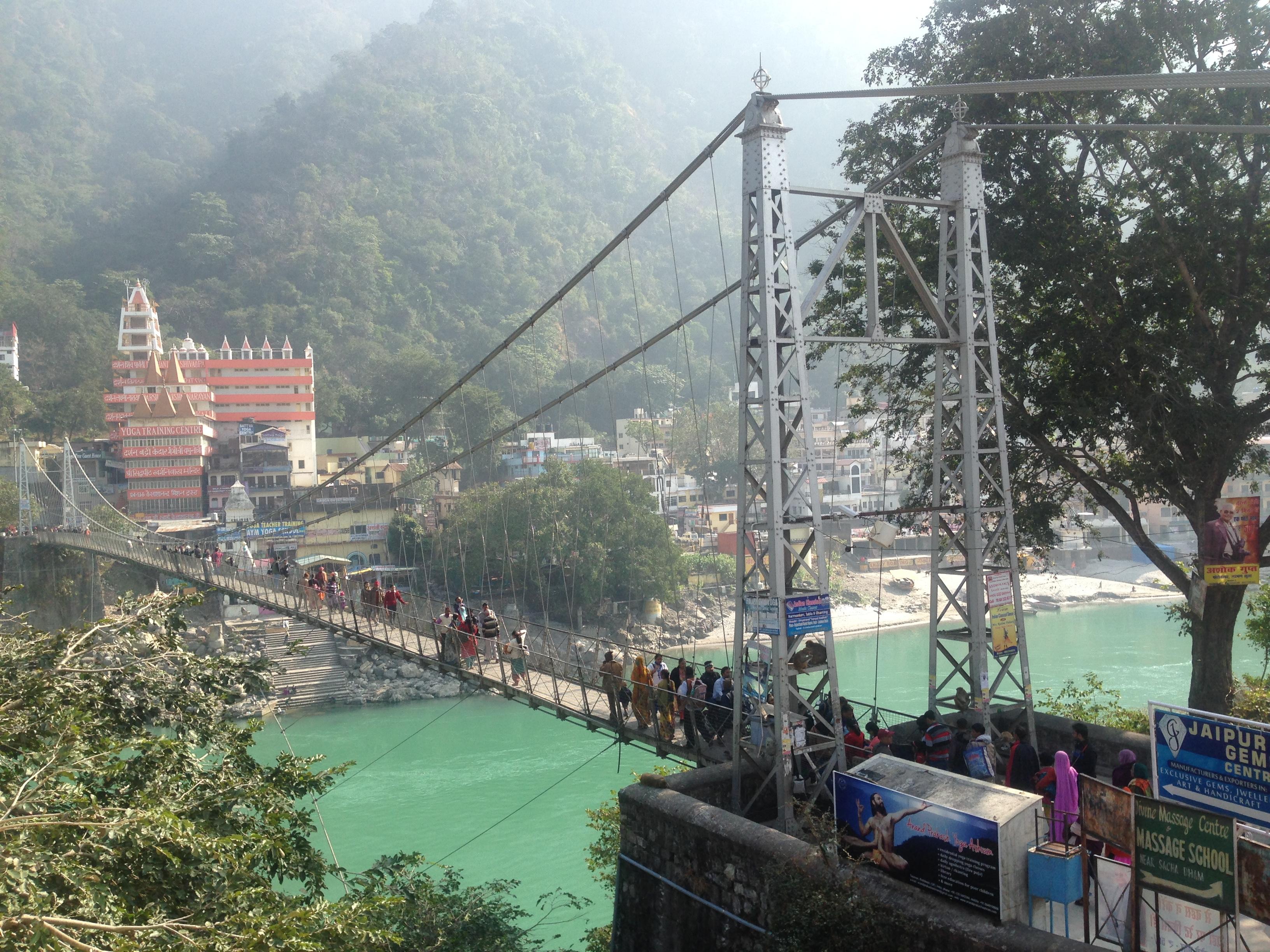 Rishikesh Ganga River Yoga
