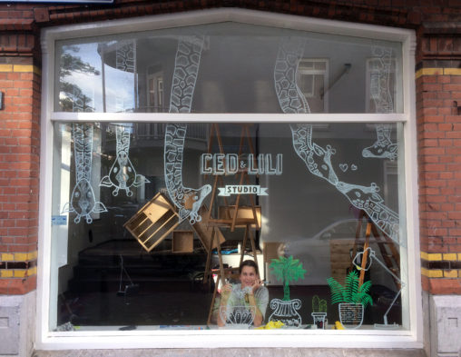 window drawing writing illustration art lilian leahy illustrations rotterdam netherlands chalkmarker windowmarker artwork glass etalage tekenen hand lettering